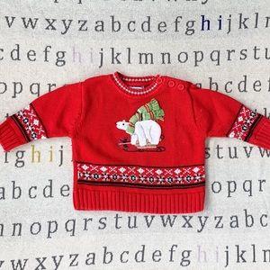 Hartstrings Baby Christmas Sweater